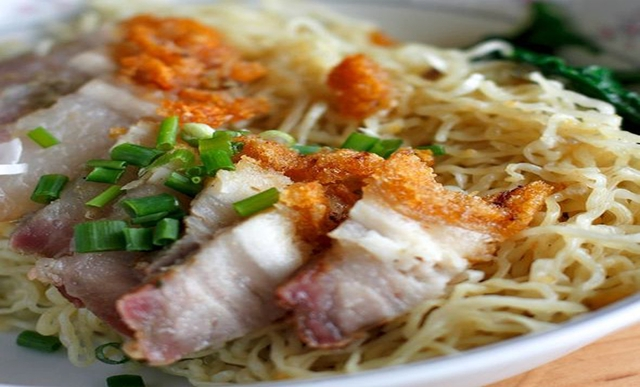 how to make crispy egg noodles